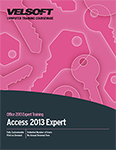 Access 2013 Expert