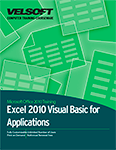 Microsoft Excel 2010 and Visual Basic for Applications