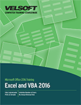 Microsoft Excel 2016 and VBA