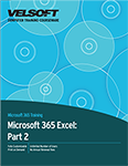 Microsoft Excel 365: Part 2