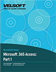 Microsoft 365 Access: Part 1