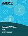 Microsoft 365 Word: Part 2