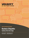 Business Etiquette - Gaining That Extra Edge