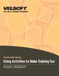 Using Activities to Make Training Fun